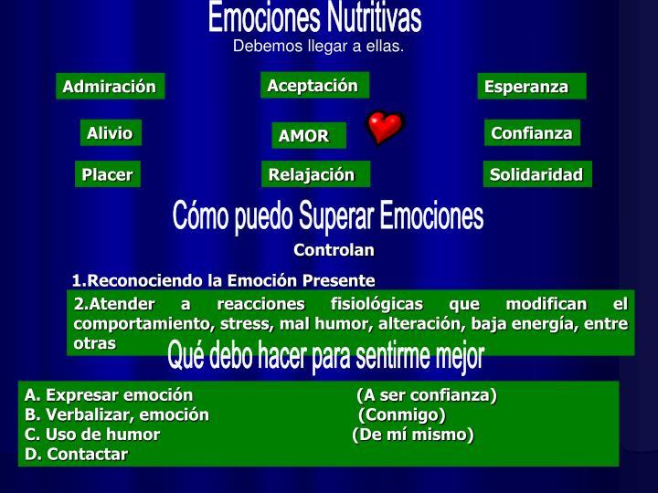 Emociones Nutritivas