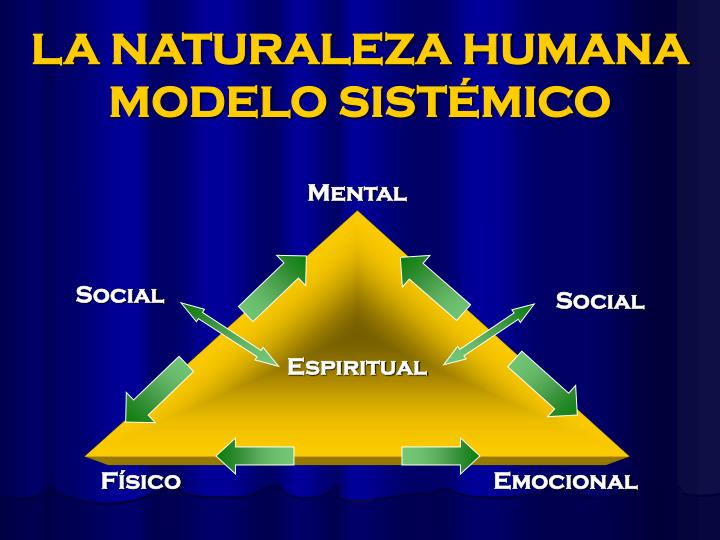 LA NATURALEZA HUMANA MODELO SISTÉMICO