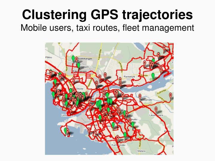 Clustering GPS trajectories