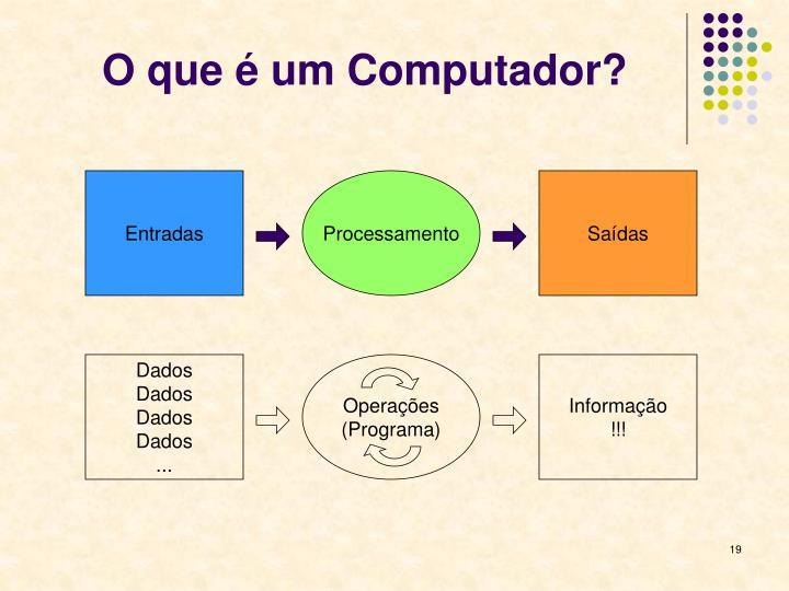 O que é um Computador?