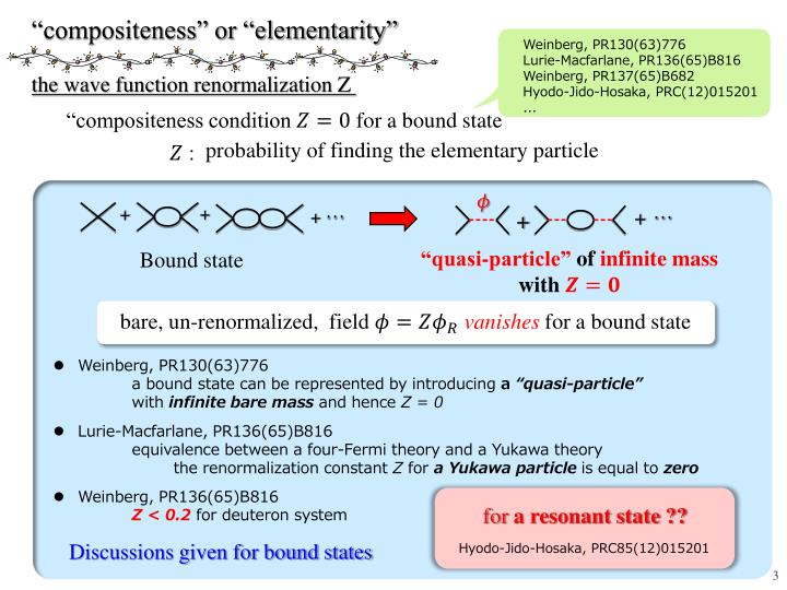 """compositeness"" or ""elementarity"""
