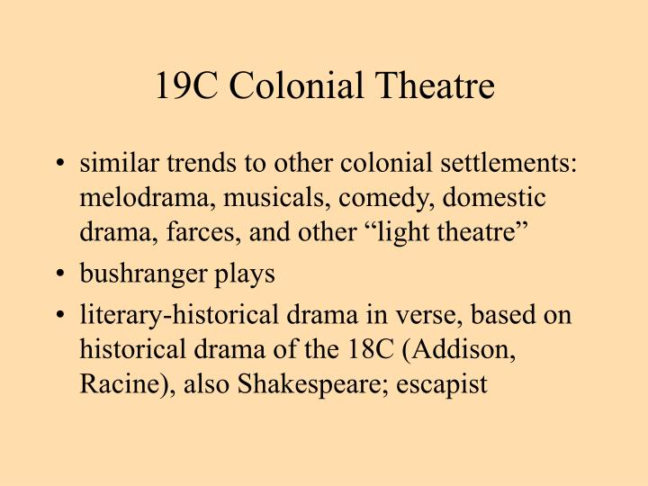 19C Colonial Theatre