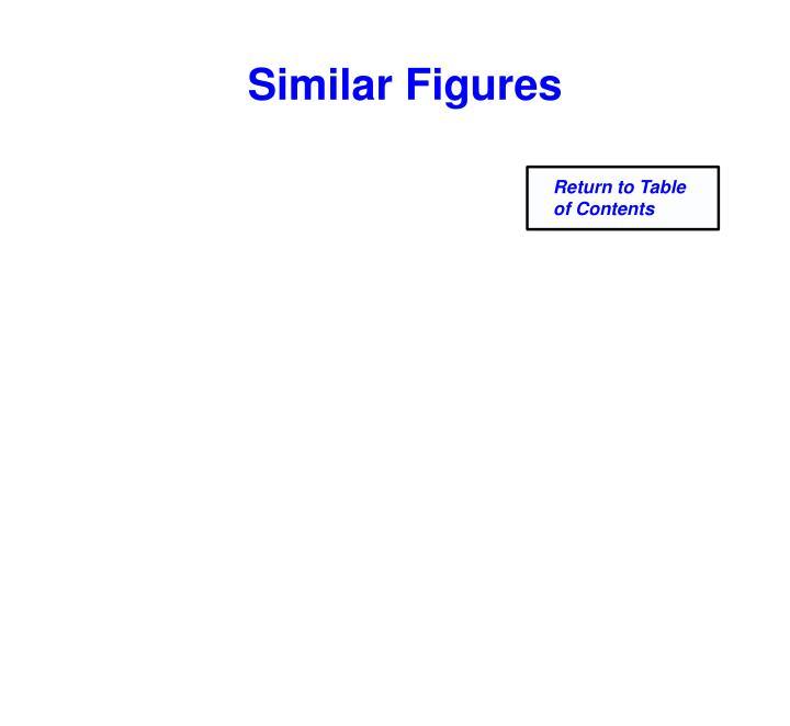 Similar Figures