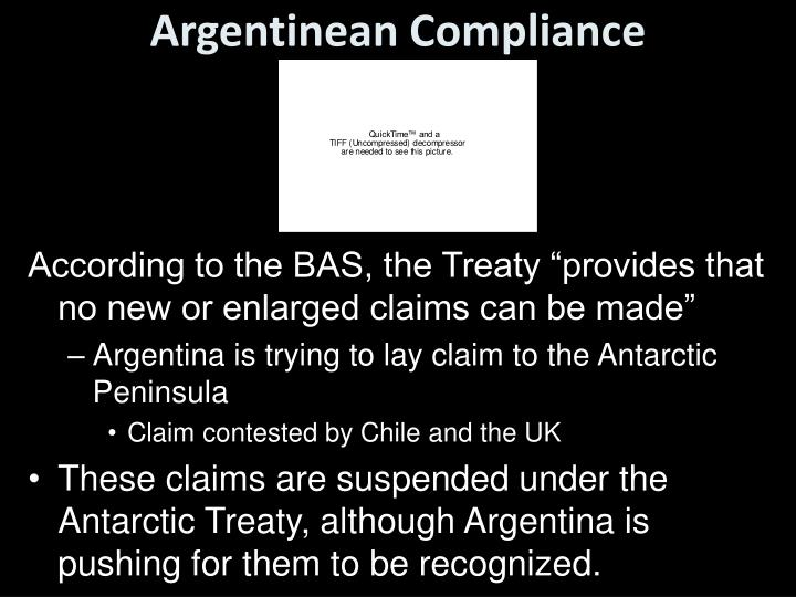 Argentinean Compliance