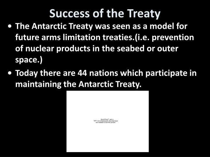Success of the Treaty