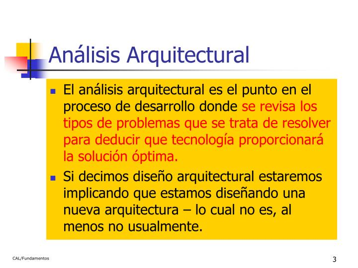 An lisis arquitectural1