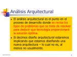 an lisis arquitectural1