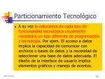 particionamiento tecnol gico1