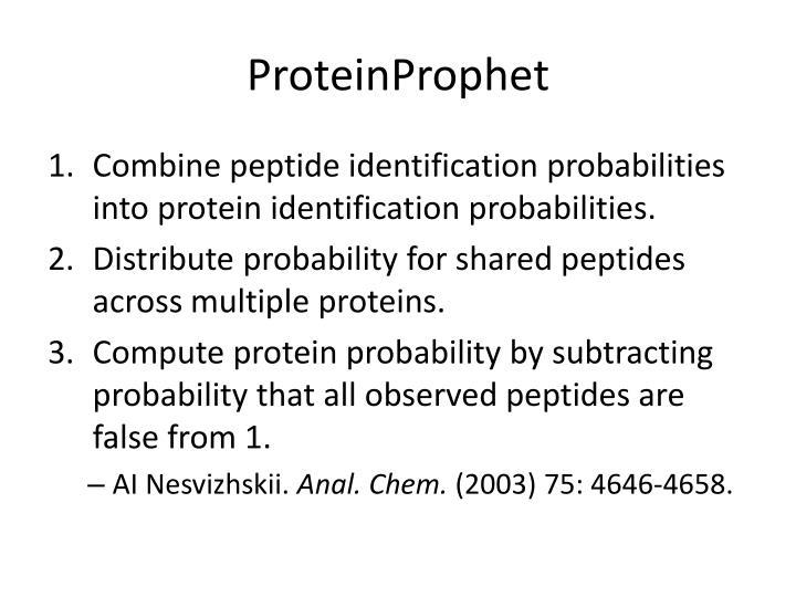 ProteinProphet