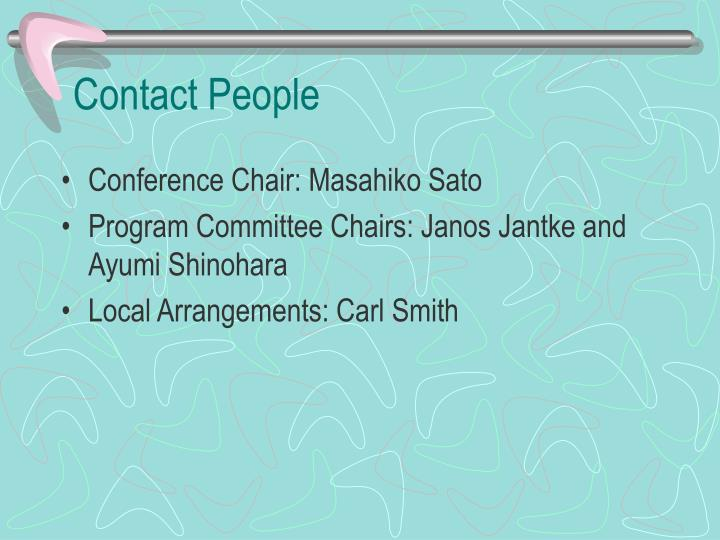 Contact People