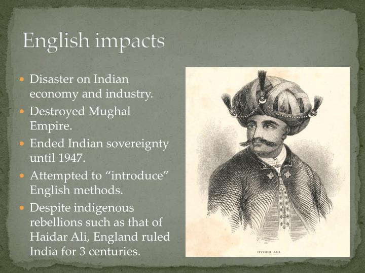 English impacts