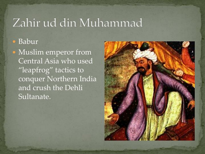 Zahir ud din Muhammad