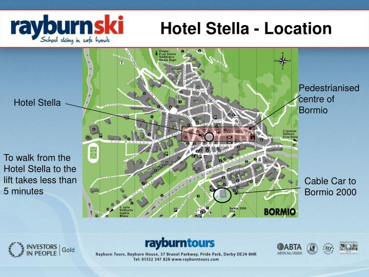 Hotel Stella - Location