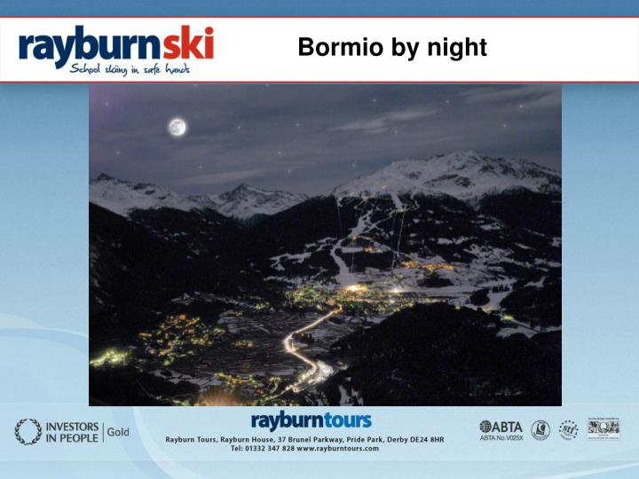 Bormio by night