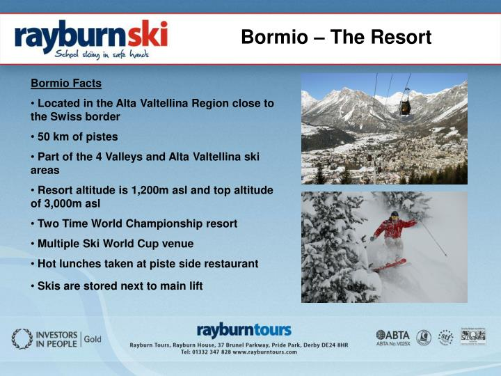 Bormio – The Resort