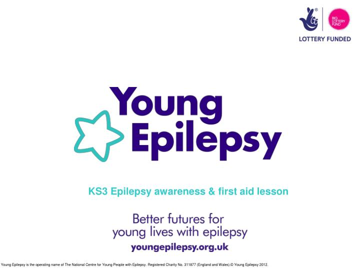 KS3 Epilepsy awareness & first aid lesson