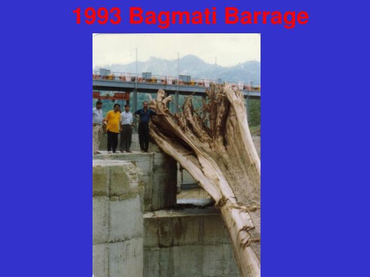 1993 Bagmati Barrage