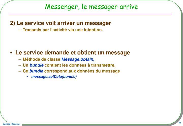 Messenger, le messager arrive