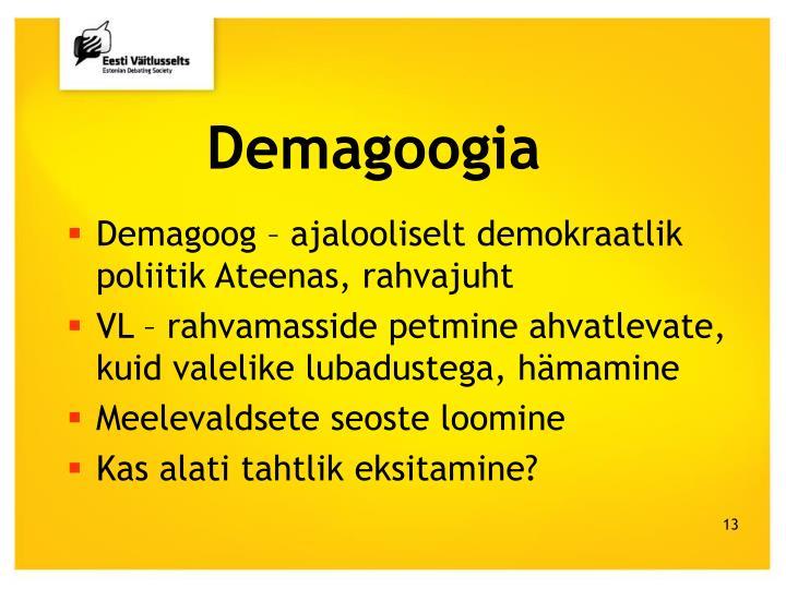 Demagoogia