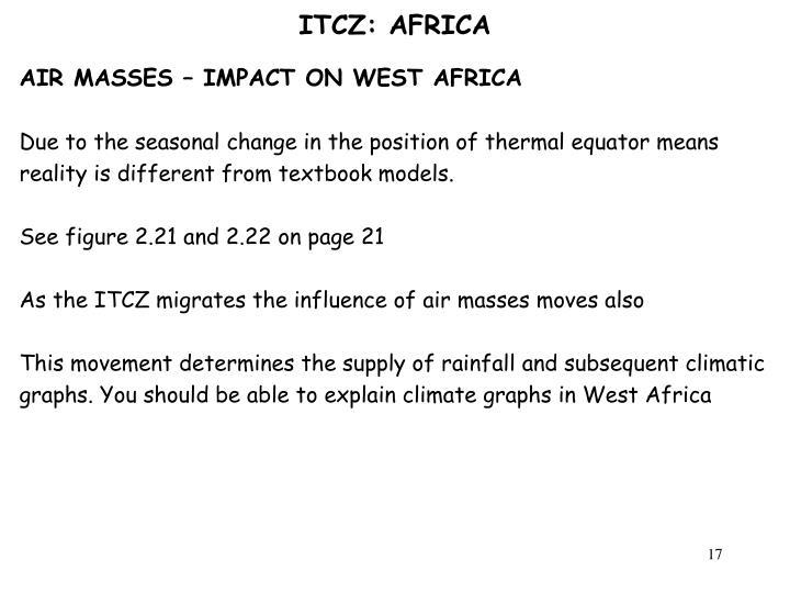 ITCZ: AFRICA