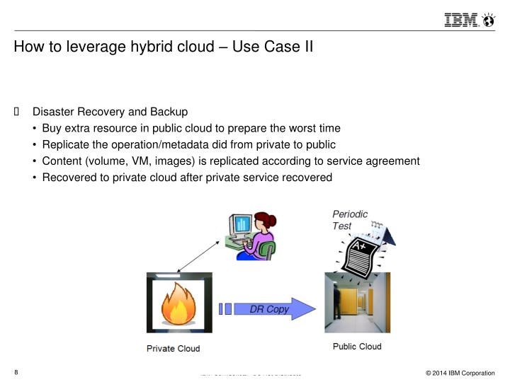 How to leverage hybrid cloud – Use Case II