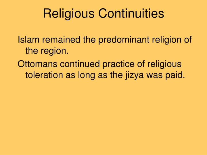 islam and continuities Continuities definition, the state or quality of being continuous see more.
