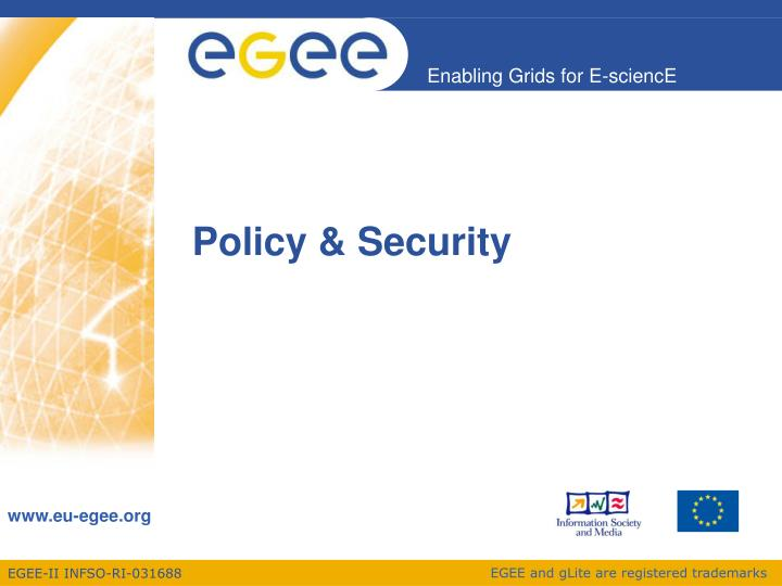 Policy & Security