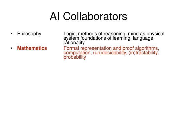 AI Collaborators