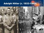 adolph hitler r 1933 1945