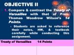 objective ii