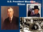 u s president woodrow wilson