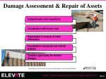 damage assessment repair of assets