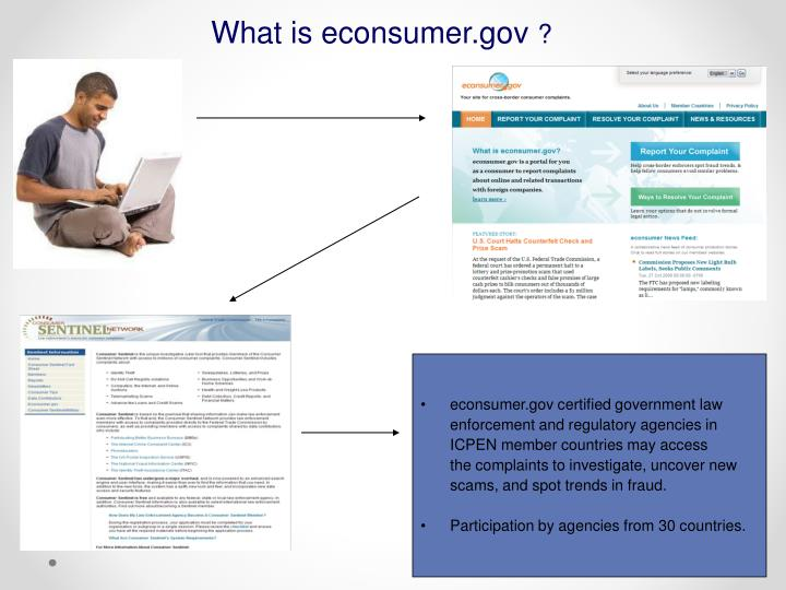 What is econsumer.gov
