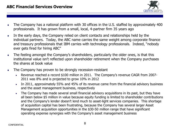 ABC Financial Services Overview