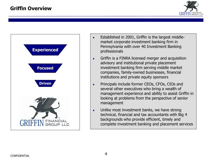 Griffin Overview