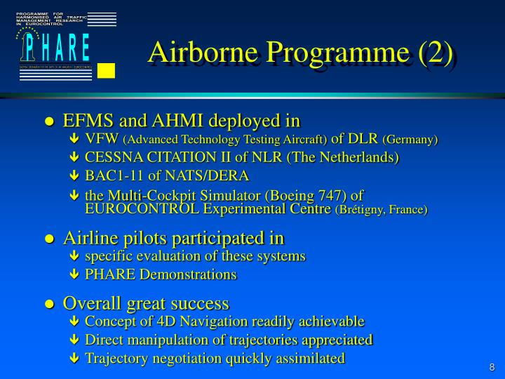 Airborne Programme (2)