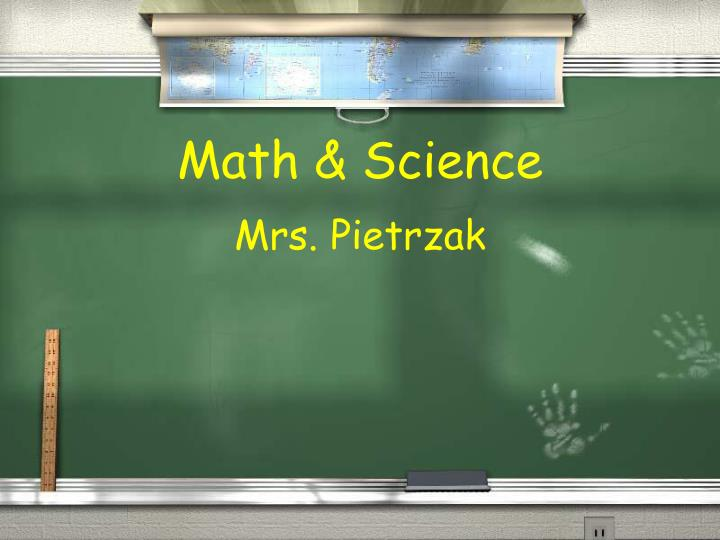 Math & Science