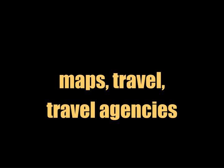 maps, travel,