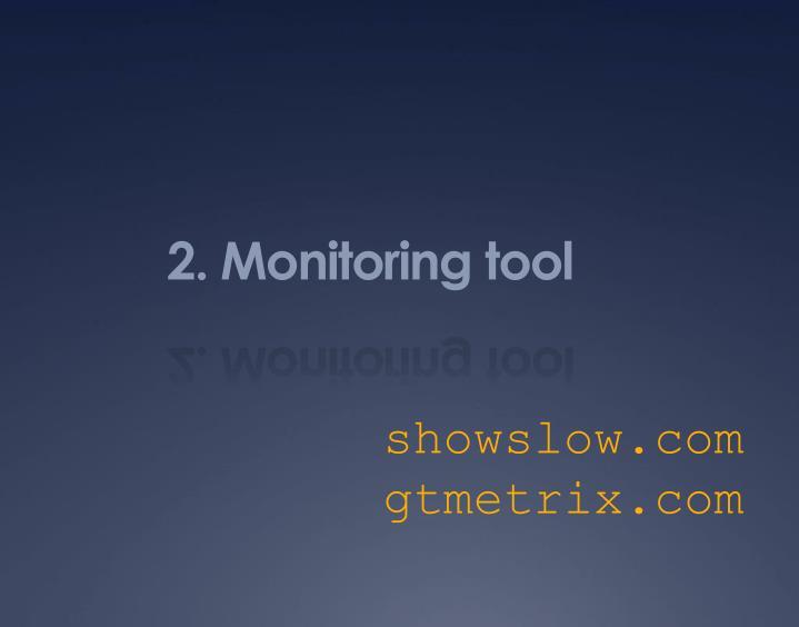 2. Monitoring tool