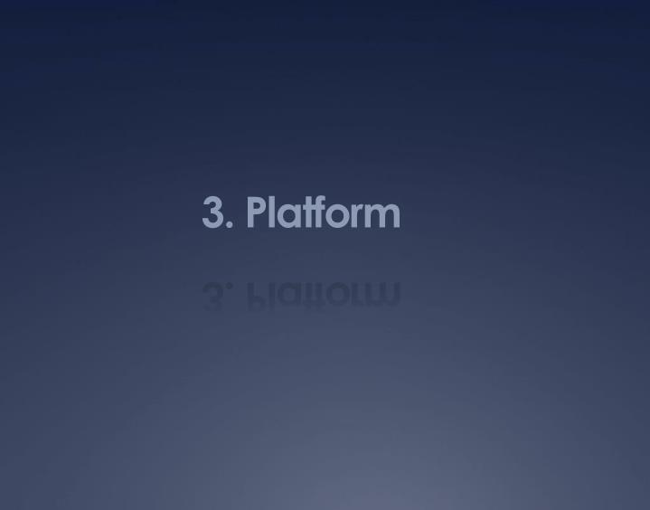 3. Platform