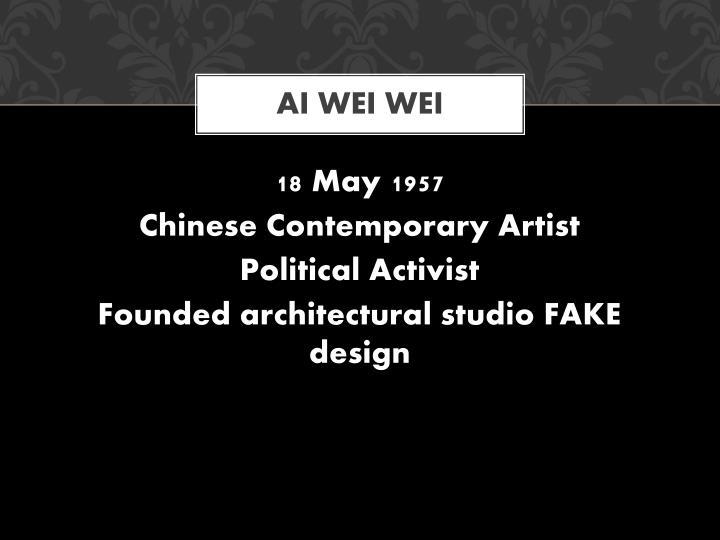 Ai Wei