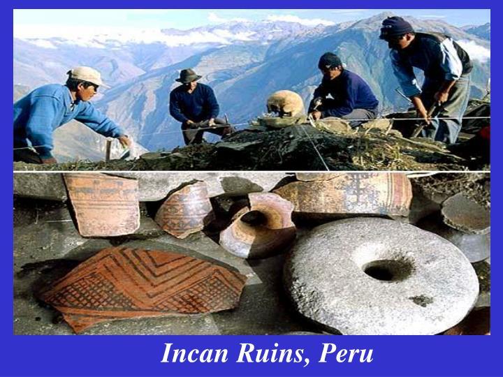 Incan Ruins, Peru
