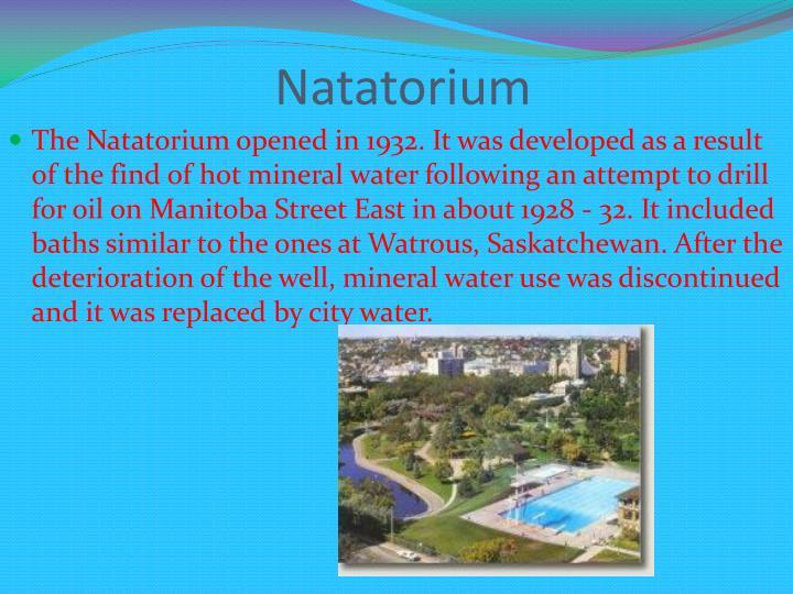 Natatorium