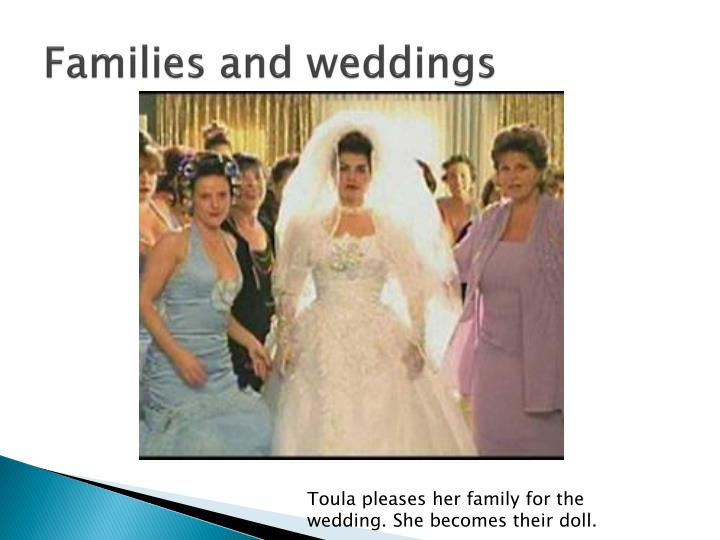 Families and weddings