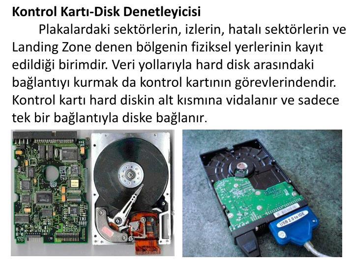 Kontrol Kartı-Disk