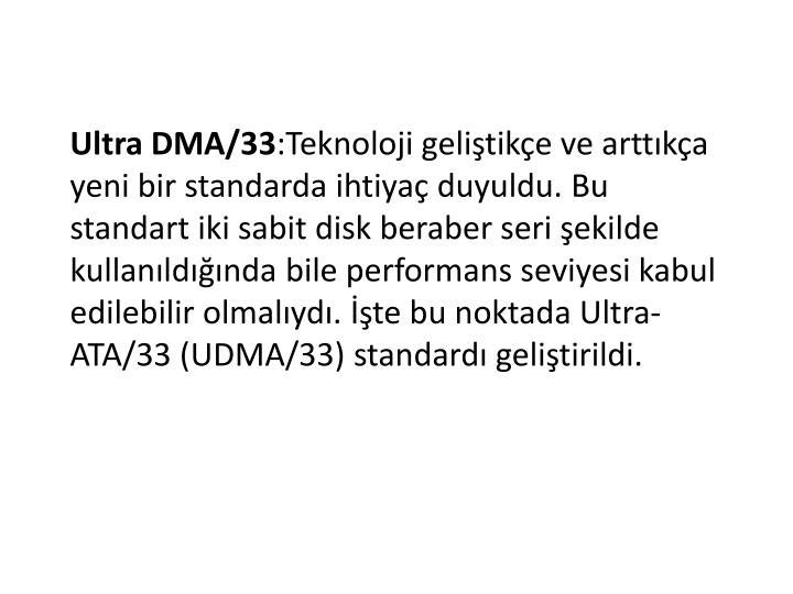 Ultra DMA/33