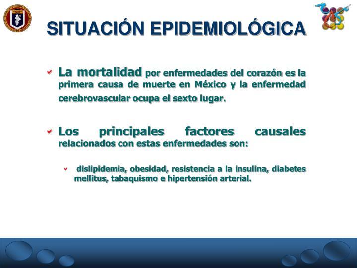 SITUACIÓN EPIDEMIOLÓGICA