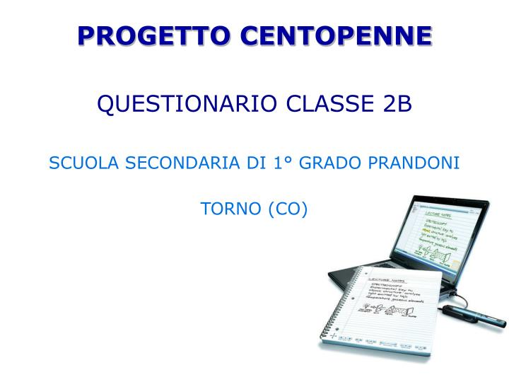 PROGETTO CENTOPENNE