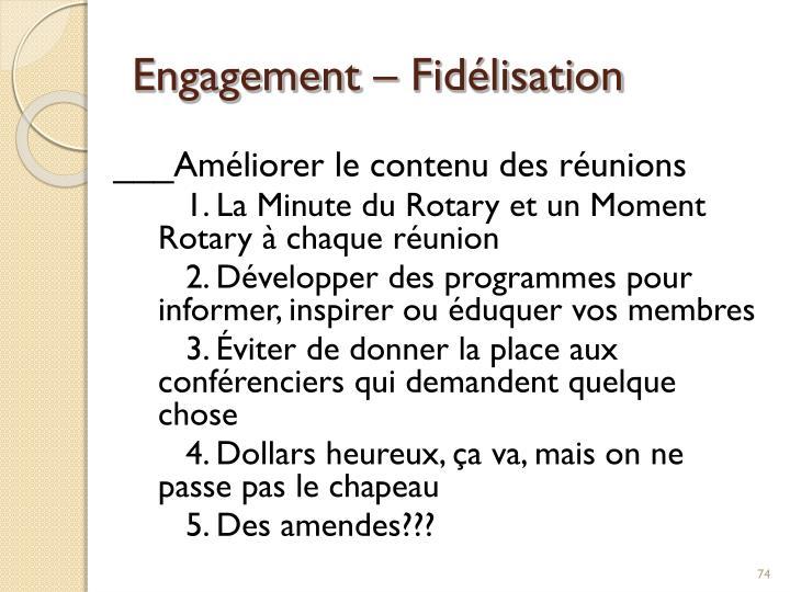 Engagement –