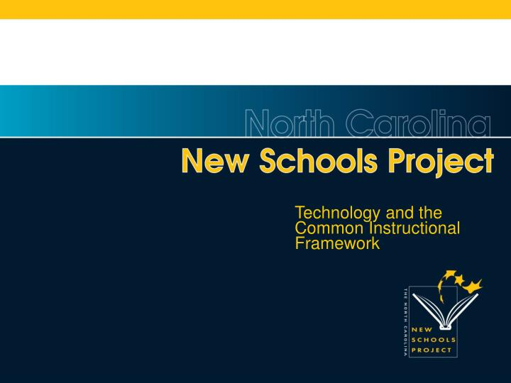 Technology and the Common Instructional Framework